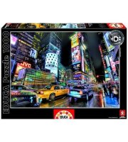 Educa Times Square, New York HDR puzzle, 1000 darabos