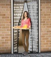 Szúnyogháló függöny ajtóra - Feliratos