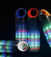 DANIU Bluetooth hangszóró és kihangosító LED-es lámpákkal