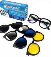 Magic Vision - 5 az 1-ben mágneses szemüveg