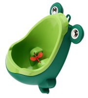 Gyermek piszoár, baba piszoár, fali piszoár gyerekeknek Zöld