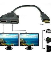 DUAL HDMI kábel HDMI elosztó