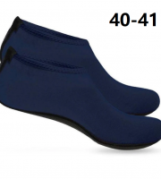 Vizicipő, tengeri cipő, úszócipő, fürdő cipő 40-41 Sötétkék
