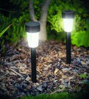 LED-es kültéri szolár lámpa