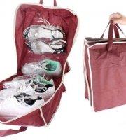 Shoe Tote, praktikus cipőtároló utazáshoz