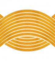 16 db Tuning felni csík narancssárga