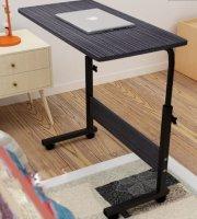 Composite fekete Laptop asztal 80*30 cm
