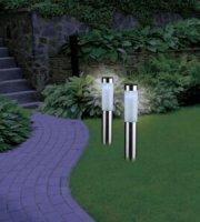 Solar kerti lámpa,leszúrható