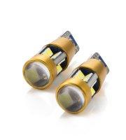 Autós LED - CAN130 - T10 (W5W) - 300 lm - can-bus - SMD - 5W - 2 db / bliszter