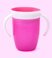 Cseppmentes itatópohár rózsaszín