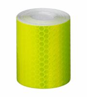 Kerékpár öntapadós fényvisszaverő ragasztószalag (3m) - sárga színű