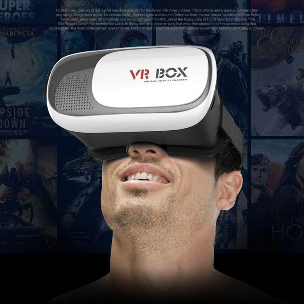 vr box ii 2.0 version vr virtual reality 3d glasses 4